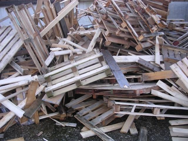 Gratis brandhout palletten
