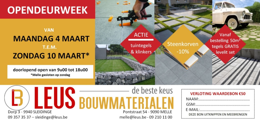 Opendeurweek LEUS